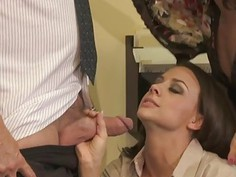 Jessica Drake, Kaylani Lei and Chanel Preston are Hot Secretaries