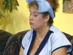Alluring Sluts Having Lesbian Sex With Fat Whore