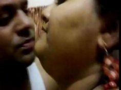 Fat Bangladeshi chick and skinny fuck buddy get it on