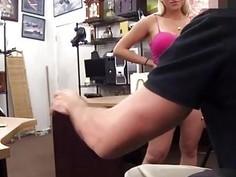 Hardcore pawn crotch bulge Stripper wants an upgrade!