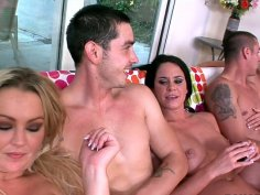 Savannah Stern, Abbey Brooks and Jaelyn Fox know how to have good fun