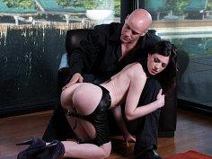 Stoya's stoic punishment
