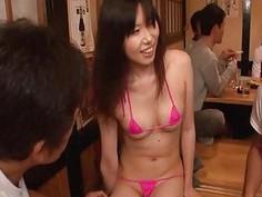 Subtitles Japanese string bikini employees