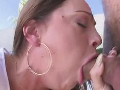 Perfect big butt and juicy tits of Abigail Mac