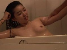 Homemade Korean sex video with cheating hubby and sexy teen