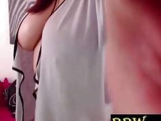 Beautiful bbw SensualJulieBB with natural big tits BBW-SEXY*COM