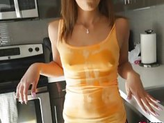 Horny Demi Lopez having a meaty hard cock