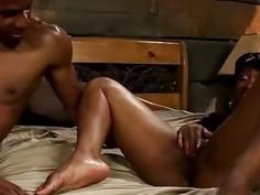 Beautiful aunt VIvian cheats on Phil in this black porn parody