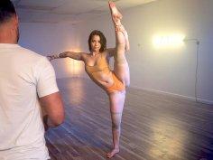 Alina the Latina Ballerina is Fucking Flexible!