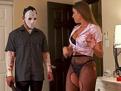 Halloween fuck with friend's slutty hot mom