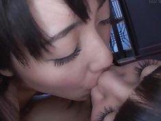 Subtitles JAV lesbians Sayo Arimoto and Rei Mizuna